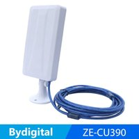 Wholesale 14dbi Antenna - high power wifi network card with 14dBi antenna 1800m wi fi working distance pannel 3g 4g USB wifi adapter wireless repeater