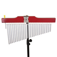 Wholesale Music Instrument Percussion - Wholesale- 25 Tone Bar Pipe Chimes Musical Percussion Instrument Suitable For Enhancing Choir Music