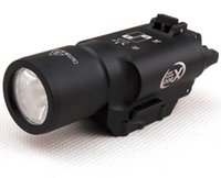 Wholesale Tactical Rifle Light Laser - Tactical LED Pistol M4 Rifle Flashlight X300 Lanterna Ultra Lights for Hunting Shooting Weaver Picatinny Mount