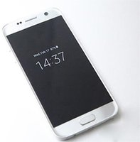 Wholesale Bit Rate Mp3 - Smartphone S7 SM-G930 S7 shown 64bit MTK6592 Octa Core 2650X1440 3G RAM 32G ROM Android 6.1 Lollipop 5.1inch goophone