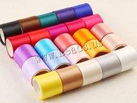 Wholesale Direction Ribbon - One Direction Satin Ribbon mixed colors 38mm 50Strands Bag 1m Strand Grosgrain Ribbon