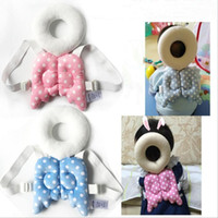 Wholesale Kapok Pillows - Baby Head Protect Pillow Soft Recovery Pillow Toddler Protection Head Shoulder Backpack Pillow Head Protection Wing Pad Children Gifts B3645