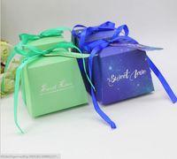 Wholesale Trapezoidal Box - European Style Candy Boxes Wedding Candy Bag Trapezoidal FERRERO ROCHER Box Party Carton Gift Box Wedding Supplies Gift Wrap