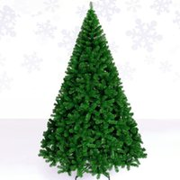 Wholesale Luxury Decorated Christmas Trees - Christmas tree 2.4 m   240cm luxury encryption Christmas tree decorated general supplies