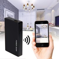 32GB HD H.264 1080P Wifi Banca di potere mobile DVR Wireless Remote Monitor Spy Hidden Camera Nanny cam per i tablet PC del telefono mobile