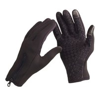 Wholesale windstopper gloves warm resale online - Windstopper Snowboard Skiing Riding Bike Touch Screen Sports Gloves Outdoor Windproof Winter Thermal Warm Palm Unisex XL