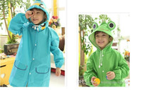 Wholesale Linda Funny Rain Coat Kids - 2015 new Linda Funny Rain Coat Kids Children Raincoat Rainwear Rainsuit Kids Waterproof Animal Raincoat