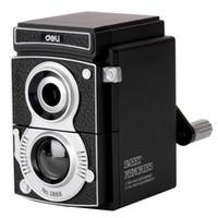 ingrosso affilatrice regali-Sweet Memories Deli 0668Vintage registratore della mano di affilatrice della matita della matita della macchina fotografica Vecchia macchina fotografica nera di Sharpener della matita meccanica