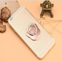 metallstandplatz für iphone ipad großhandel-360 Grad-Luxuxmetallstandplatz-Katze-Finger-Ring-Halter-Universalitäts-Loch-Einfassung für iPhone iPad Smartphone Galroplate-Halter