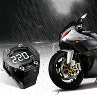 Wholesale Tpms External Sensor - Steelmate DIY TP-90 TPMS for Motorcycle Tire Pressure Monitoring System with Waterproof External Sensor Wireless LCD Display K2597