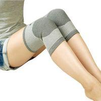 Wholesale Far Infrared Knee - Far infrared bamboo charcoal fiber Kneepad knee Health Care knee sleeve Warm anti- rheumatism sports leisure four seasons available