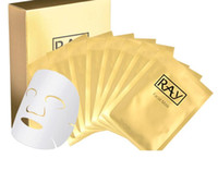 Wholesale Face Thailand - Thailand Ray Fibroin Facial Skin Renewal Anti-Wrinkle Face Mask Triple Silk Mask Biological Mask Cosmetic Whitening Facial Multi-colors
