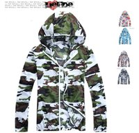 Wholesale Fall Protection Jacket - Fall-2016 Sunmmer Beach Thin Camouflage Jacket Sun Protection UV protection Man Jacket Sunproof Men's Jackets Casual Sport Cardigan