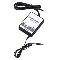 instalar audio de coche al por mayor-Interfaz de MP3 para automóvil Cable de datos USB / SD Cambiador de CD digital de audio Diseño inteligente y fácil de instalar para Toyota / Lexus / Scion
