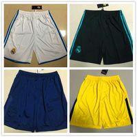 Wholesale Men S Home Pants - Top thai quality 17 18 shorts Home Away pants NEYMAR JR 10 MBAPPE CAVANI SERGIO RAMOS RONALDO ASENSIO ISCO Football shorts