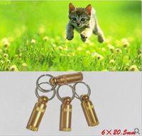 Wholesale Dog Id Tube - Pet Dog Cat Mini ID TAG Anti lost Name Address Label Identity Barrel Tube Collar