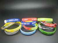 Wholesale Silicon Bracelets Printing - Big Silicone Vape Band Silicon Beauty Decorative Sport Ring 202X12MM Colorful Wristband Bracelet Custom Embossed Debossed Silk Print E cig