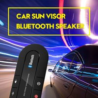 Sun Visor Bluetooth Speakerphone Leitor de música MP3 Wireless Bluetooth Handsfree Car Kit Bluetooth Receiver Speaker Car Charger