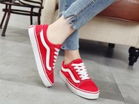 Wholesale vs lace - New fashion spring and autumn men and women canvas shoes Lace-up Casual Shoes vs flats