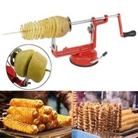 Wholesale Eco Twist - Manual Stainless Steel Veg Fruit Potato Twisted Spiral Slicer Cutter