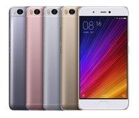 Wholesale Xiaomi Mi - Original Xiaomi Mi 5S 4G Andriod 6.0 Smartphone 5.15inch Snapdragon821 Quad Core NFC Fingerprint 3GB RAM 64GB ROM 12.0MP MobilePhone