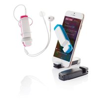 Wholesale Original XD Jam In Audio Multi tool with headphone jack splitter smartphone stand holder screen cleaner and cable wrap gadgets