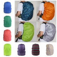 Wholesale Raincoats For Adults - 33 Colors Practical Waterproof Dust Rain Cover For Travel Camping Backpack Rucksack Bag Outdoor Luggage Bag Raincoats LJJO2976