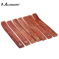 Wholesale Stick Incense Wholesale - Wholesale- Meetcute 1pc Wooden Incense Stick Holder Burner Stand Furniture Protection Incense Base Aromatherapy Plate