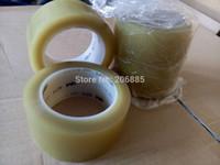 Wholesale 3m Brand Tape - Wholesale-Original 3M tape vinyl warning adhesive tape clear color rubber 3M brand tape 471 50mm * 33 m PVC 24rolls a lot wholesale