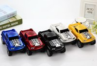 Wholesale Wholesale Super Mini Trucks - Pickup Truck Car Design Mini Speaker with LED Light Bluetooth Wireless Speakers Stereo Portable Super Bass Handsfree for Phone iPad DS-396B
