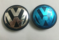 Wholesale wheel cars for sale for sale - Hot Sale mm Car Wheel Cover Badge Wheel Hub VW Center Caps Emblem For VW TOUARET