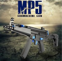 Wholesale Magazine Toys - MP5 electric water bullet gun toy for magazine put bullet outdoor toy fast order deal and free shipping