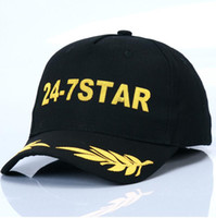 Wholesale Outdoor Sports 24 - 2017 Outdoor Men's & Women's Baseball 24-7 Star Sports Golf Caps Lady Embroidery Letter Adjustable Snapback Cotton Casquette