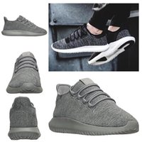 2017 Hot Tubular Shadow Ultra Boost Femmes Chaussures de course pour hommes Tricot confortable Blakc White Army Green 350 boost Sneaker Fashion Wholesale
