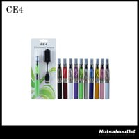 eGo Starter Kit CE4 atomiseur cigarette électronique e Kit cig 650mAh 900mAh 1100mAh EGO-T Batterie Blister Case Clearomizer E-cigarette DHLFree