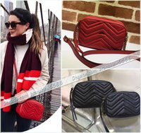 Wholesale Camera Bag Small Leather - Free Shipping Women's Brand Tassel Shoulder Bag Genuine Leather Designer Camera Bag Lady Handbag 447632 448065