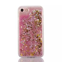 Wholesale Green Sand Stone - Quicksand Dynamic Liquid TPU Soft Case For Iphone6 6plus 7 7plus Sand Glitter Star Bling Diamond Stone Cover Skin