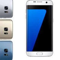 Wholesale Andriod Cellphones - Metal Frame S7 edge Curved screen cellphone 5.5 inch Andriod 6.0 MTK6580 RAM 1GB ROM 8GB 3G WCDMA can show 4G LTE