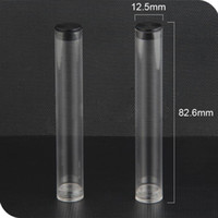 Wholesale Plastic Storage Tubes - CE3 PP Empty Plastic Package Tube For oil containers Atomizer clear Storage Tube Cover For 0.2 0.3 0.4 0.5ML