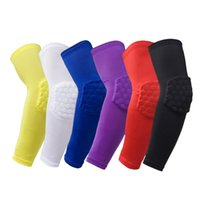 Wholesale Knee Protections - Compression Arm Sleeves UV Protection Cooler Sports Elbow Warmers Support