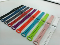 Wholesale banded gear - Silicone Sport Band For Samsung Gear Fit2 Fit 2 Fitness Band Wrist Wearables Classic Replacement Silicone Bracelet Strap