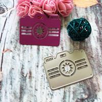 Wholesale Camera Craft - Camera Frame Metal Cutting Dies For Scrapbooking Stencils DIY Album Paper Cards Decoration Embossing Folder Die Cutter Crafts