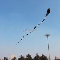 ingrosso gli aquiloni di stunt liberano il trasporto-3D 40 metri Stunt enorme SNAKE POWER Sport Aquilone giocattolo esterno spedizione gratuita