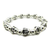 Wholesale Cheap Buddha Bracelets - Wholesale cheap Smiling Buddha Buddha head beads Miao silver bracelet Tibetan Silver Bracelet wh Free Shipping