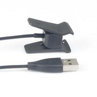 зарядные кабели для запястья фитбит оптовых-USB зарядка кабель зарядного устройства шнур для Fitbit Альта смарт-часы браслет Браслет USB кабель для зарядки замена зарядное устройство шнур для Fitbit Алта с