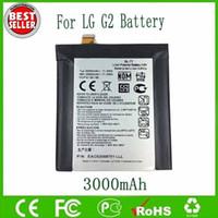 lg g2 original großhandel-Ursprüngliche Batterie Soems BL-T7 BLT7 für Fahrwerk G2 D800 D801 D802 LS980 VS980 3000mAh geben Verschiffen-Großhandel frei