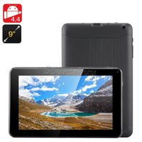Wholesale 9 inch tablet online - Quad Core GHz A33 Allwinner inch Tablet PC Google Android Kitkat Bluetooth MB RAM GB ROM Dual Cameras Wifi V90