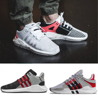 Wholesale Mens Leather Sports Coats - Overkill x Consortium EQT ADV 93 17 ultra Boost Support Future black white pink Coat of Arms Pack Mens women casual sports Sneaker