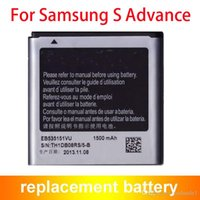 Wholesale Advance S Battery - Mobile Phone Battery For Samsung I9070 EB535151VU Galaxy S Advance I9070 1500mAh