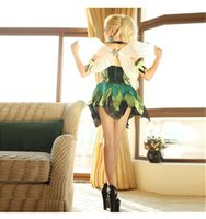 Wholesale Erotic Photos - Halloween Yellow Dragonfly Cosplay Nightclubs Party Play Sexy Costumes With Wings Women Erotic Apparel Top Quality Real Photos